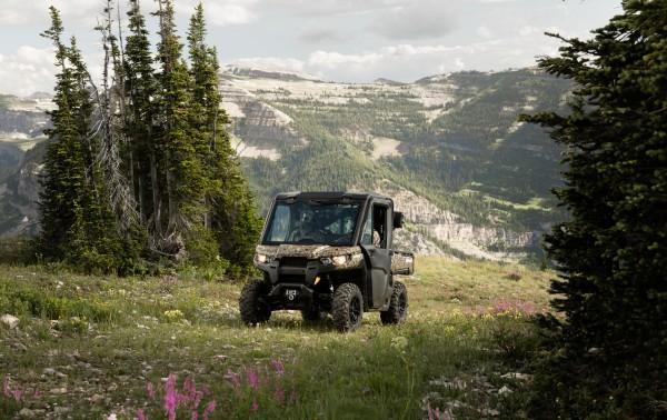 Defender XT CAB Camo-Trail