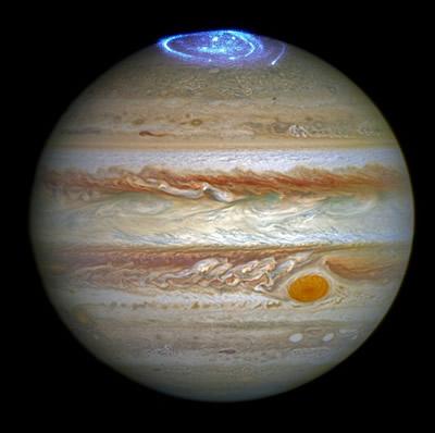 木星のオーロラ