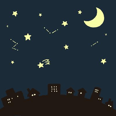 星を見分ける