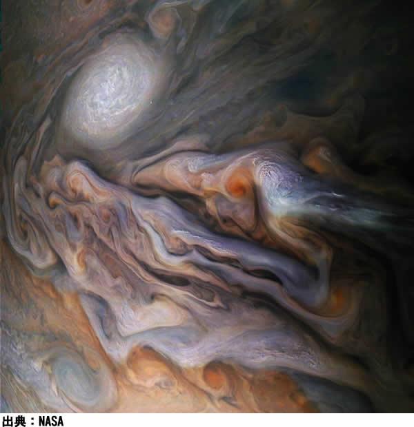 木星のアップ