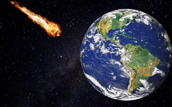 小惑星と地球が衝突