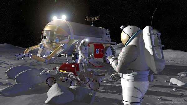 有人月面探査