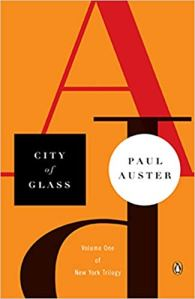 December Book Club: City of Glass, by Paul Auster