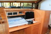 New audio visual equipment enables improved AV services and streaming and recording worship services.
