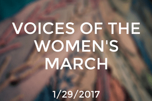 Voices of The Women's March