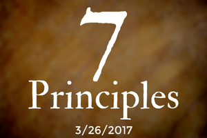 The 7 Principles, Part Six: World Community