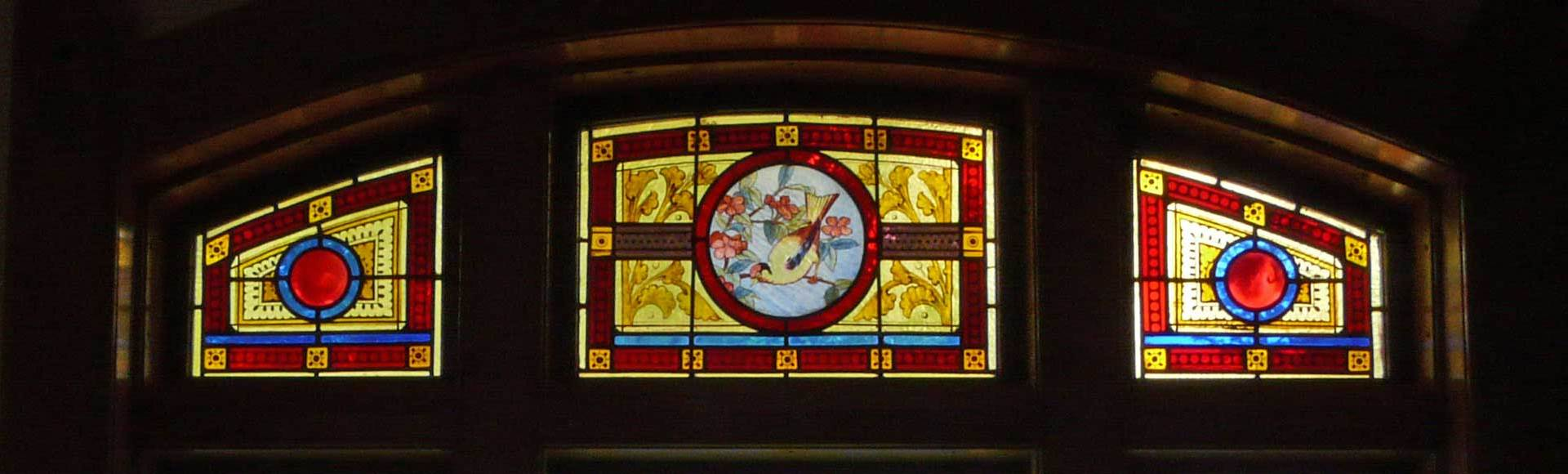 "<div style=""display:none;"">One of Our Stained Glass Windows</div>"