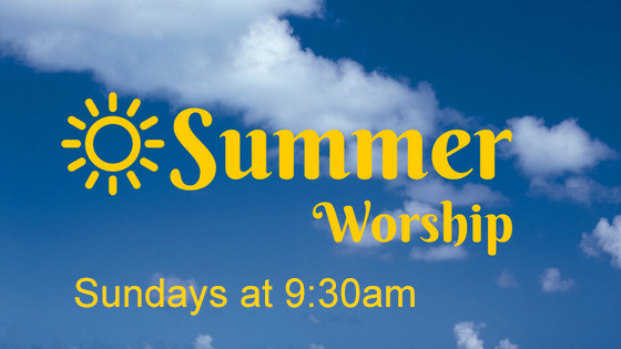 Lay-led Summer Worship Services (Online)
