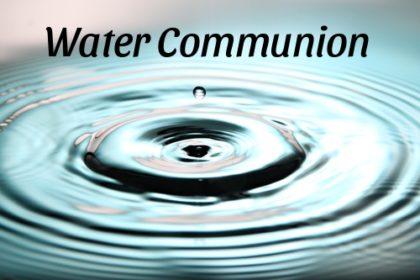 Water Communion (Online)
