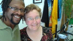 With Rev. Amy Zucker Morgenstern