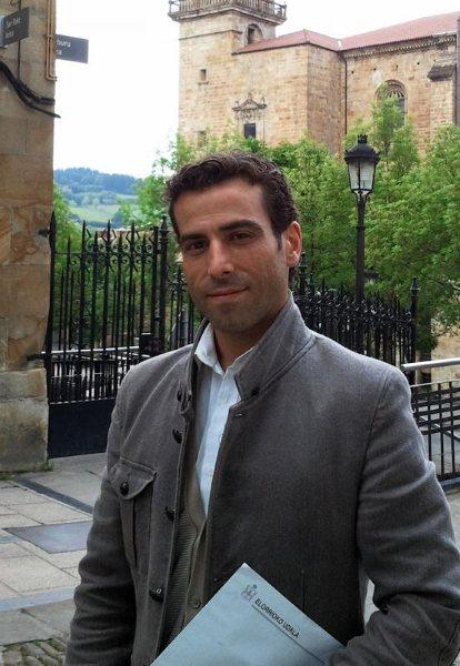 Carlos García, concejal del PP de Elorrio