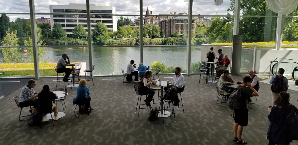 Interior of Conference Center on the Spokane River
