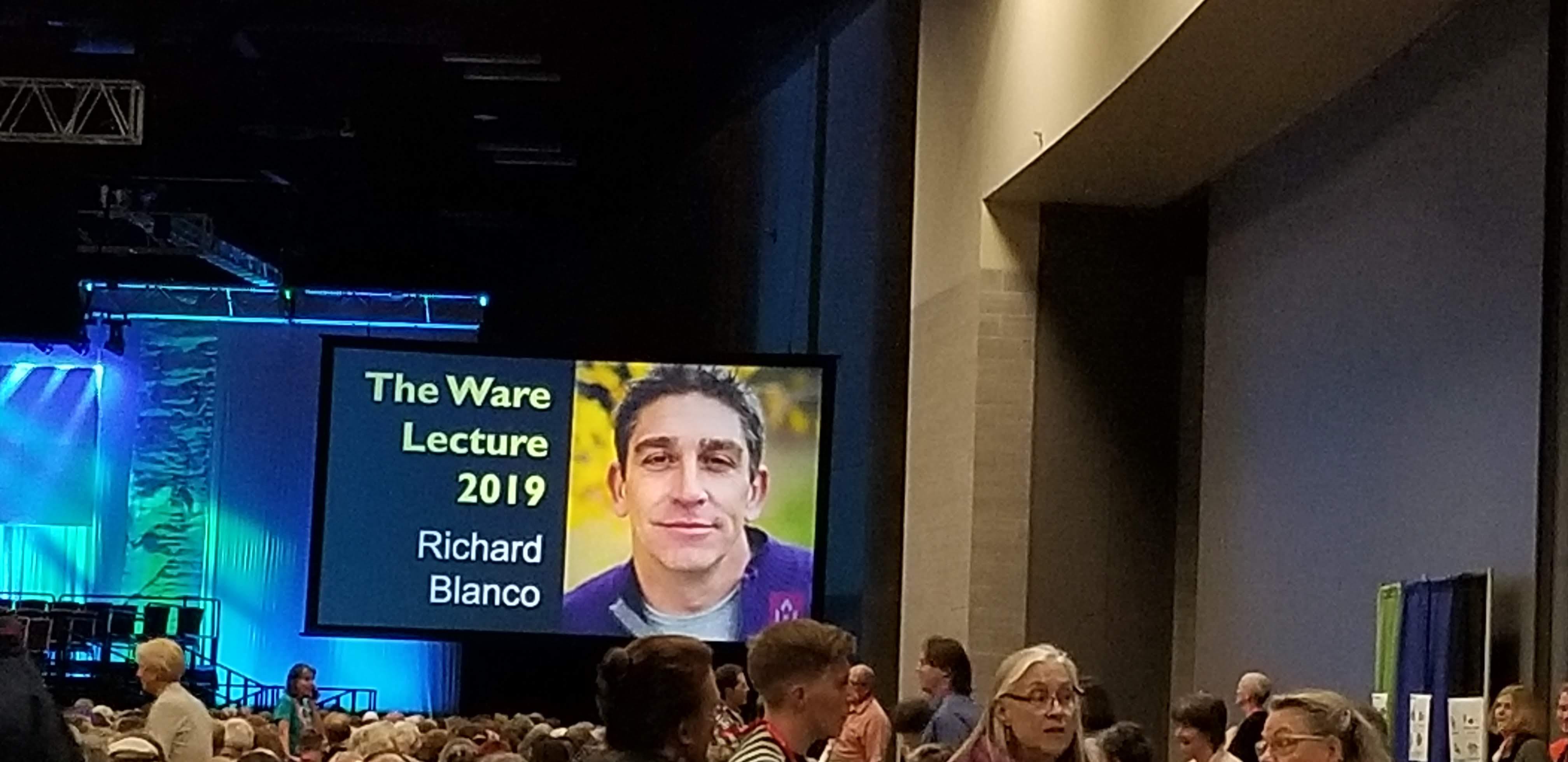 Ware Lecturer Richard Blanco
