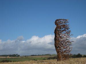 Highway sculpture
