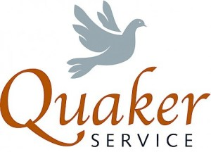 The words Quaker Service