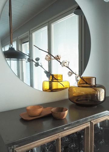 Essis Collection By Lasilinkki Pyöreä peili kirkas