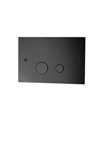 Tapwell DUO112 Seinä-wc huuhtelupainike Mattamusta (muunnelmatuote)