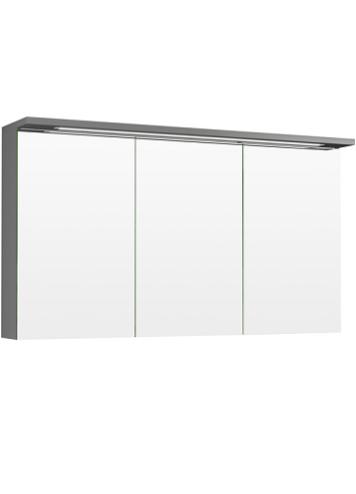 Temal Highlight peilikaappi kolmella ovella (vaalean harmaa)