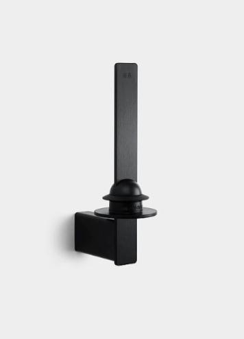 Unidrain Reframe Wc-paperiteline Varapaperille Musta