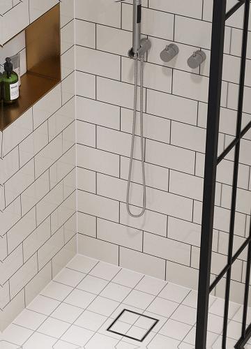Vieser Flip laatoitettava lattiakaivojärjestelmä
