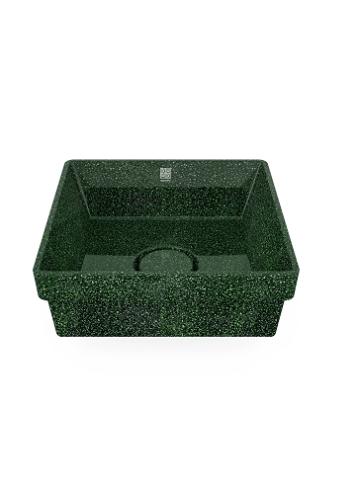Woodio Cube40 Allas Tasoon Upotettava moss