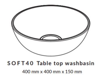 Woodio Soft 40 Mittakuva