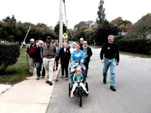 UUSMV members participate in the annual MV Crop Walk