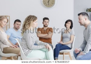 drama-therapy-during-group-meeting-450w-676406557