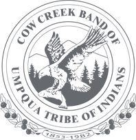 Call to Artists for Artworks Northwest 2018 : Cow Creek Band of Umpqua Tribe of Indians logo