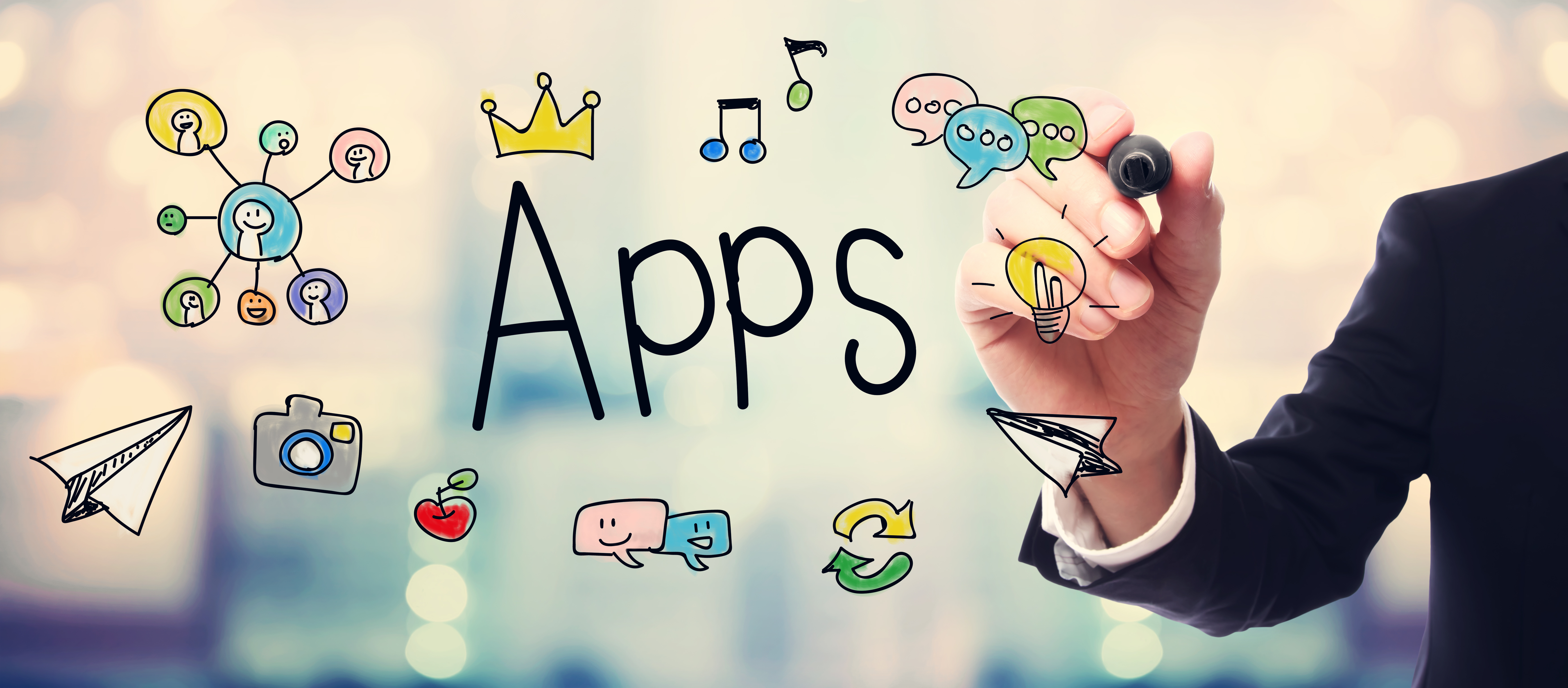 A future with less applications on your devices