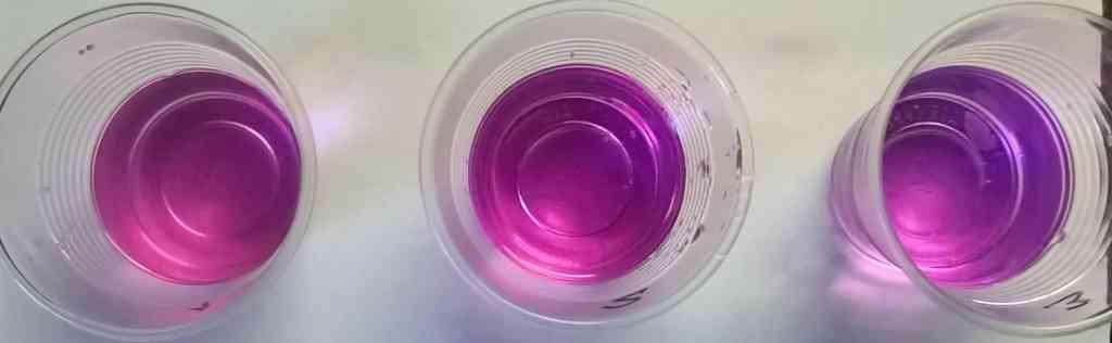 Тест воды на перманганатную окисляемость