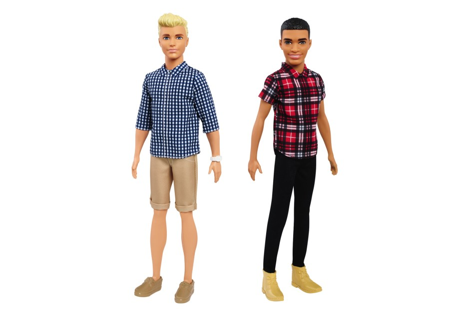 Mattel has announced the release of a new range of Ken dolls.