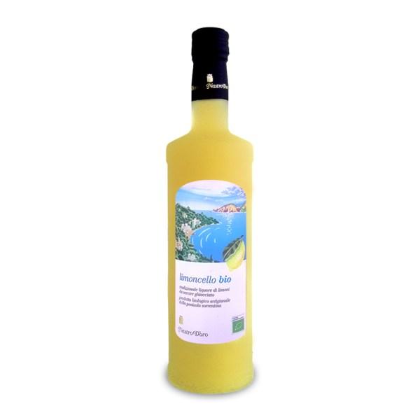 Nastro d'Oro Limoncello biologique de la Côte amalfitaine en importation privée