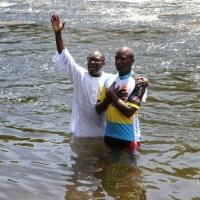 Baptême au village