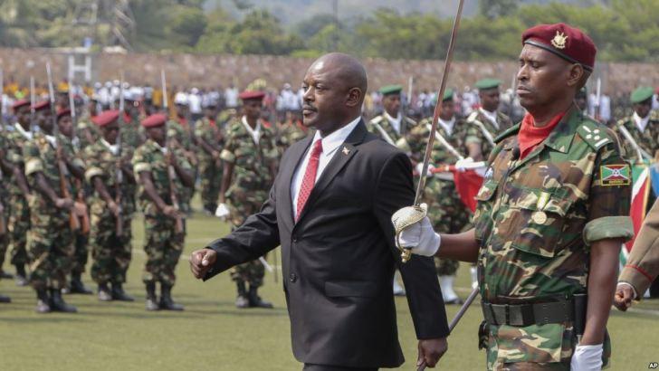 Burundi: L'armee burundaise présente à la presse près de 80 rebelles
