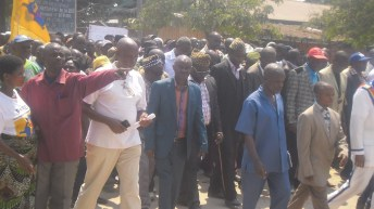 Fizi-RDC: Marche pour soutenir la nomination du Dircab Nehemie Mwilanya Wilondja