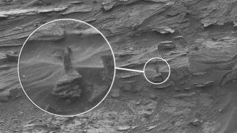 Une mystérieuse femme aperçue sur Mars