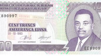 Burundi : retrait d'anciens billets du Franc burundais de la circulation