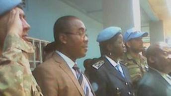 Sud-Kivu: le vice-gouverneur du sud~kivuGabriel Kalonda Mbulu a visité Shabunda