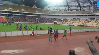 """Tournoi International """"ANGOLA 40 ans """" RD Congo-Léopards : Victoire sur les Chopolo polo de la Zambie 3-0"""