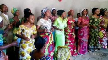 Uvira-RDC: Alfajiri kwaya ukaribisho wa mchungaji wao paster Mahoye kutoka USA