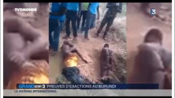 """Mensonge de France 3 sur """"des images de massacre au Burundi"""""""