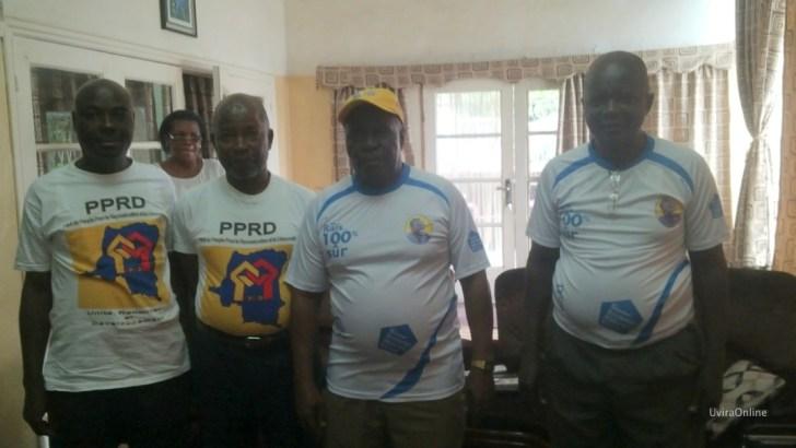 Burundi : le chargé d'affaires à l'ambassade de la RDC adhère au PPRD