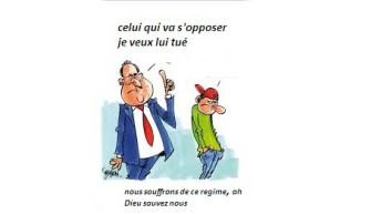 Caricature: Grands Lacs problème de la gouvernance