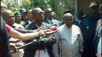 Beni-RDC: Massacres de Beni, le gouvernement dépêche une forte équipe sur lieu.