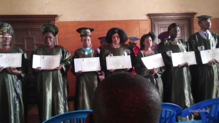 Uvira-RDC : Collation de grades académiques à l'ISC Uvira