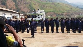 Uvira-RDC: Implantation officielle d'une unité de l'escadron de la police lacustre,fluviale et ferroviaire