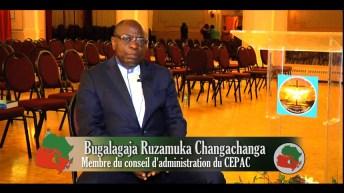 Entretien avec M. Bugalagaja R. Changachanga, Membre du conseil d'administration du CEPAC