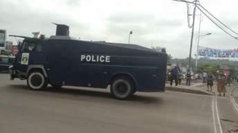 RDC: Exhibition des engins antiémeutes de la police; le gouvernement prévient il les éventuelles manifestations ?