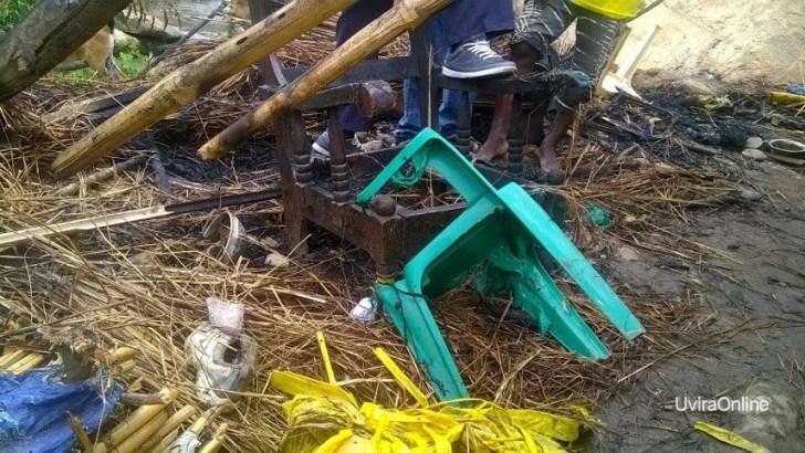 Kabindula-RDC: Maison brûlée d'une maman soupsonnée de recel et Perquisition des maisons des voleurs